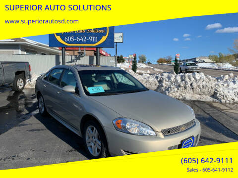 2012 Chevrolet Impala for sale at SUPERIOR AUTO SOLUTIONS in Spearfish SD