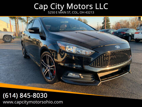 2016 Ford Focus for sale at Cap City Motors LLC in Columbus OH
