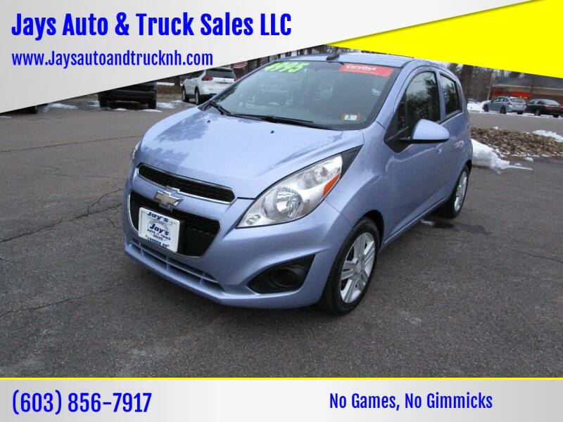 2014 Chevrolet Spark for sale at Jays Auto & Truck Sales LLC in Loudon NH