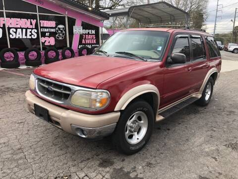 2001 Ford Explorer for sale at Fast and Friendly Auto Sales LLC in Decatur GA