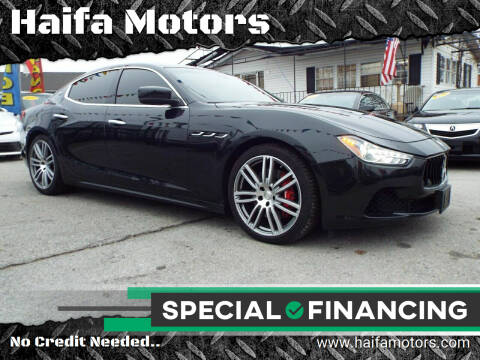 2014 Maserati Ghibli for sale at Haifa Motors in Philadelphia PA
