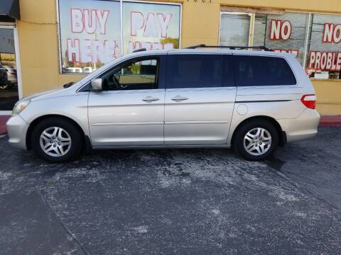 2006 Honda Odyssey for sale at BSS AUTO SALES INC in Eustis FL