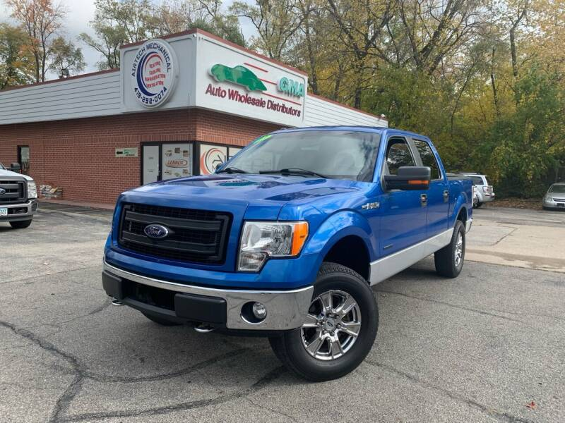 2013 Ford F-150 for sale at GMA Automotive Wholesale in Toledo OH