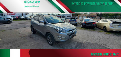 2015 Hyundai Tucson for sale at Green Ride Inc in Nashville TN