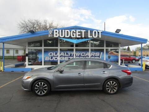 2016 Nissan Altima for sale at THE BUDGET LOT in Detroit MI