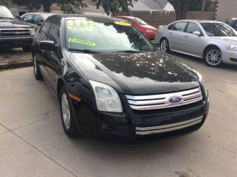 2007 Ford Fusion for sale at Harrison Family Motors in Topeka KS