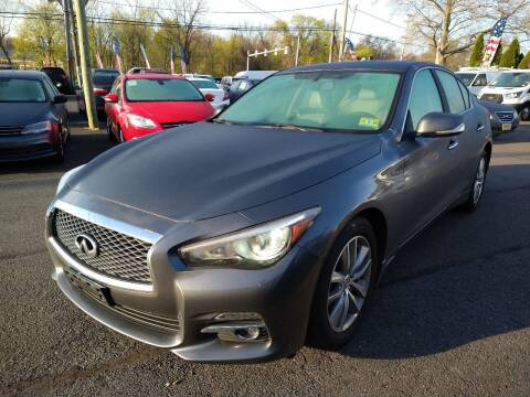 2015 Infiniti Q50 for sale at P J McCafferty Inc in Langhorne PA