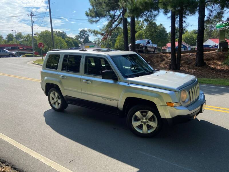 2011 Jeep Patriot for sale at THE AUTO FINDERS in Durham NC