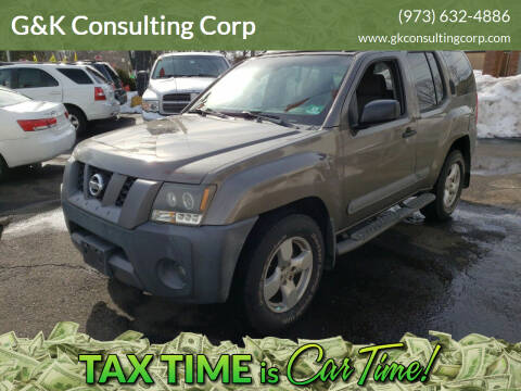 2005 Nissan Xterra for sale at G&K Consulting Corp in Fair Lawn NJ