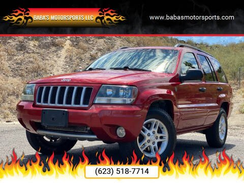 2004 Jeep Grand Cherokee for sale at Baba's Motorsports, LLC in Phoenix AZ