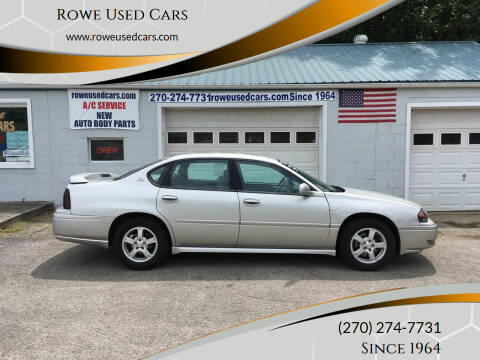 2005 Chevrolet Impala for sale at Rowe Used Cars in Beaver Dam KY