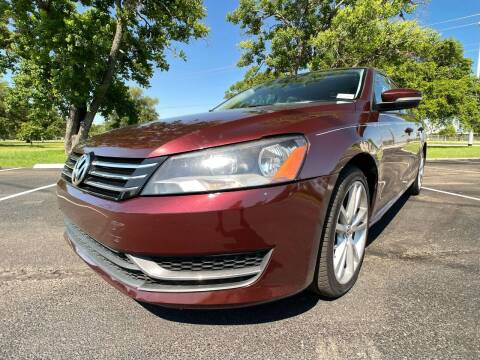 2014 Volkswagen Passat for sale at Carz Of Texas Auto Sales in San Antonio TX