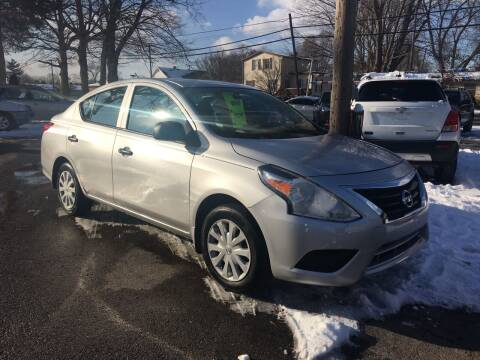 2015 Nissan Versa for sale at Antique Motors in Plymouth IN
