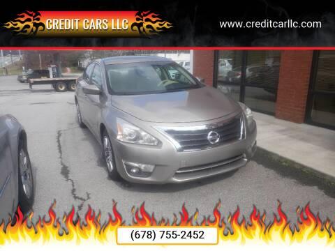 2014 Nissan Altima for sale at Credit Cars LLC in Lawrenceville GA