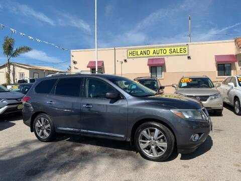 2014 Nissan Pathfinder for sale at HEILAND AUTO SALES in Oceano CA