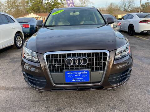 2011 Audi Q5 for sale at QUALITY PREOWNED AUTO in Houston TX