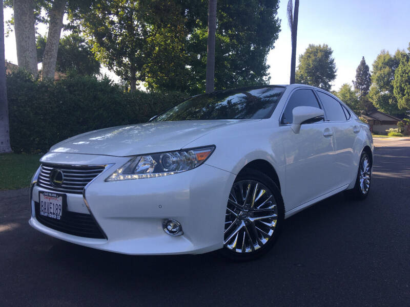 2014 Lexus ES 350 for sale at Valley Coach Co Sales & Lsng in Van Nuys CA