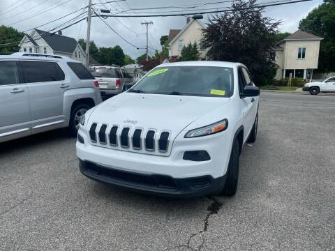 2014 Jeep Cherokee for sale at Auto Gallery in Taunton MA
