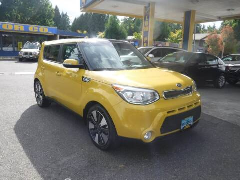 2015 Kia Soul for sale at Brooks Motor Company, Inc in Milwaukie OR