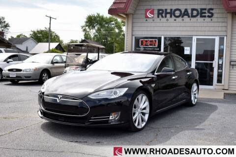 2015 Tesla Model S for sale at Rhoades Automotive in Columbia City IN