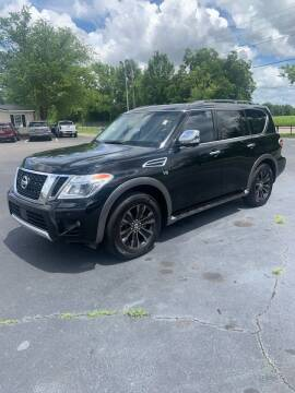 2017 Nissan Armada for sale at Thoroughbred Motors LLC in Florence SC