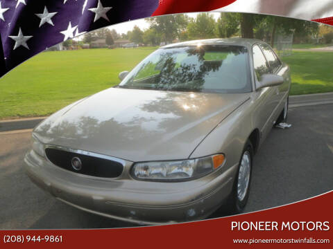 2000 Buick Century for sale at Pioneer Motors in Twin Falls ID