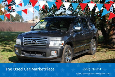 2006 Infiniti QX56 for sale at The Used Car MarketPlace in Newberg OR