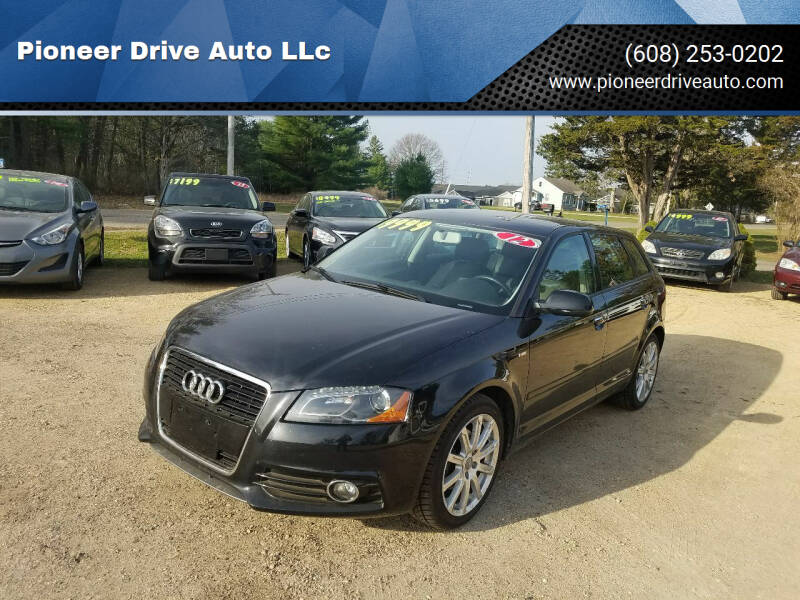 2012 Audi A3 for sale at Pioneer Drive Auto LLc in Wisconsin Dells WI