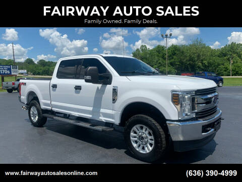 2019 Ford F-250 Super Duty for sale at FAIRWAY AUTO SALES in Washington MO