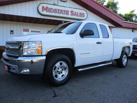 2012 Chevrolet Silverado 1500 for sale at Midstate Sales in Foley MN
