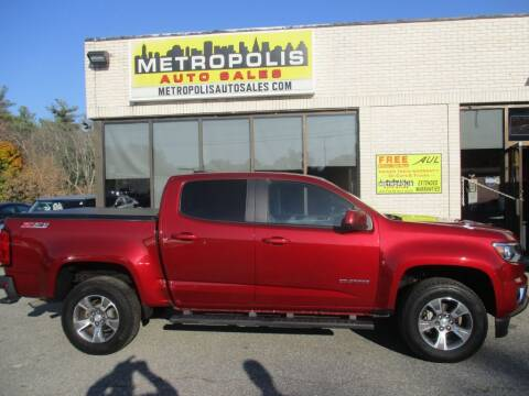 2018 Chevrolet Colorado for sale at Metropolis Auto Sales in Pelham NH
