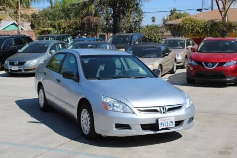 2007 Honda Accord for sale at Car 1234 inc in El Cajon CA