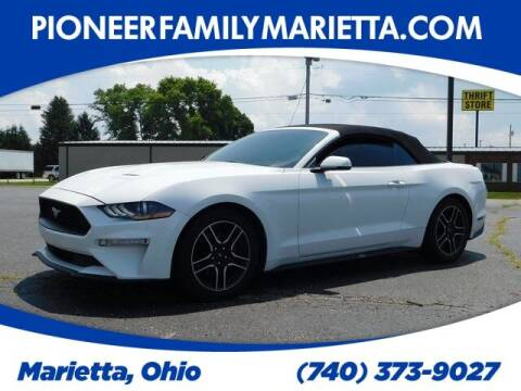 2018 Ford Mustang for sale at Pioneer Family preowned autos in Williamstown WV