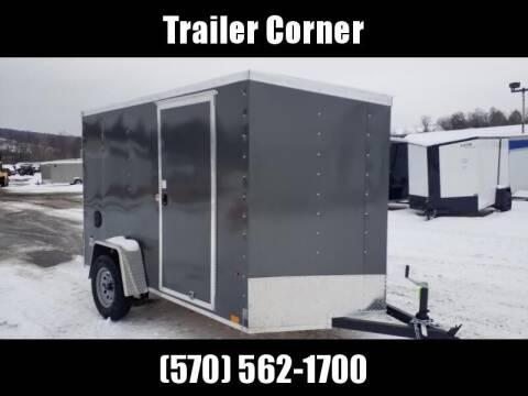 2022 Look Trailers STLC 6X10 - RAMP DOOR
