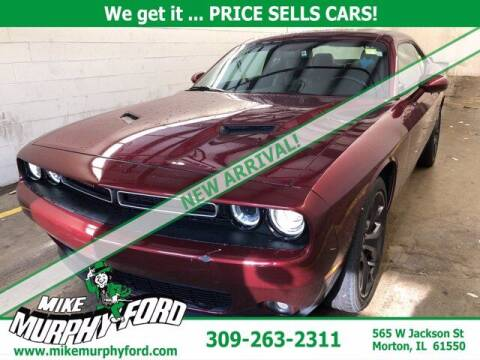 2018 Dodge Challenger for sale at Mike Murphy Ford in Morton IL