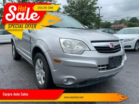 2008 Saturn Vue for sale at Carpro Auto Sales in Chesapeake VA