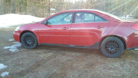 2006 Pontiac G6 for sale at Expressway Auto Auction in Howard City MI