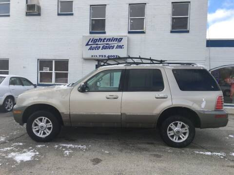 2004 Mercury Mountaineer for sale at Lightning Auto Sales in Springfield IL