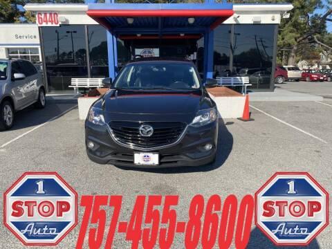 2013 Mazda CX-9 for sale at 1 Stop Auto in Norfolk VA