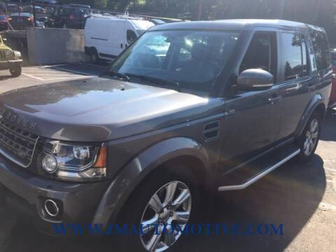 2015 Land Rover LR4 for sale at J & M Automotive in Naugatuck CT