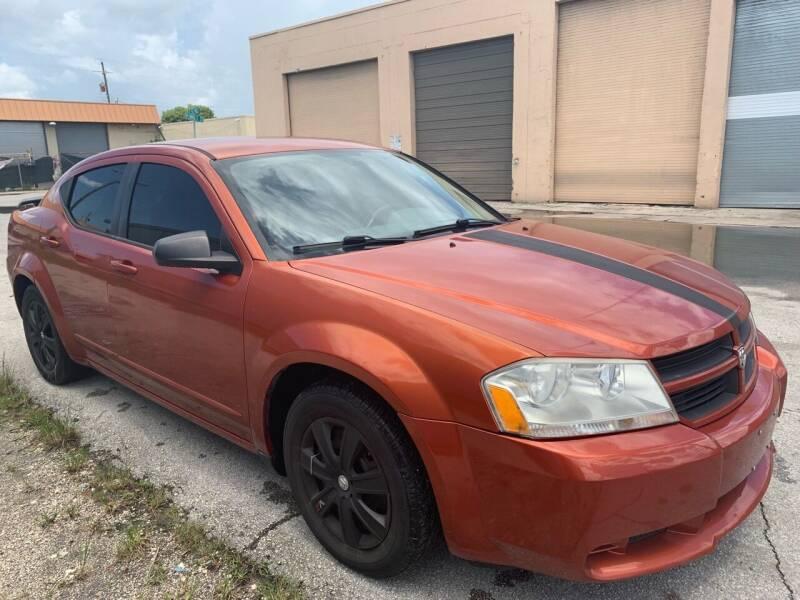 2008 Dodge Avenger for sale at Eden Cars Inc in Hollywood FL