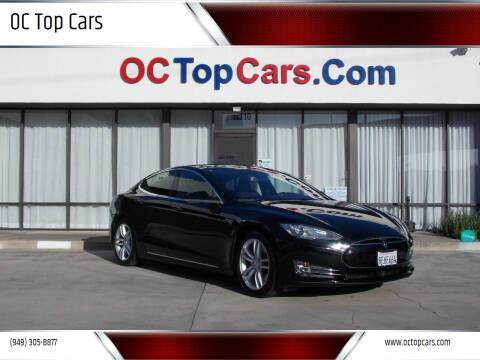 2014 Tesla Model S for sale at OC Top Cars in Irvine CA