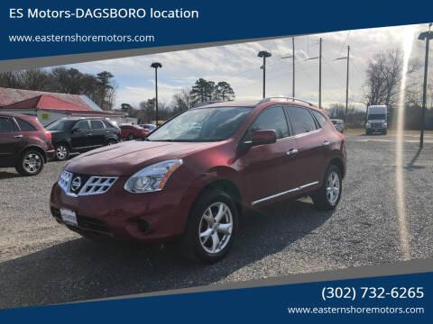 2011 Nissan Rogue for sale at ES Motors-DAGSBORO location in Dagsboro DE