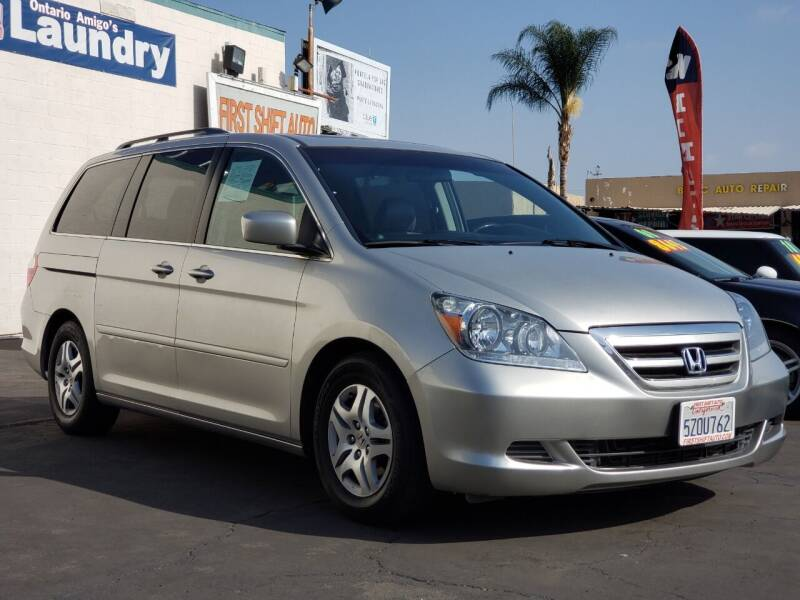 2007 Honda Odyssey for sale at First Shift Auto in Ontario CA