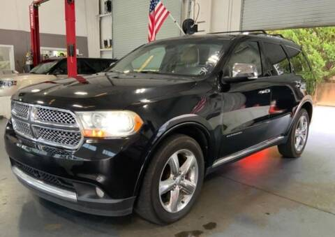 2011 Dodge Durango for sale at Mad Motors LLC in Gainesville GA