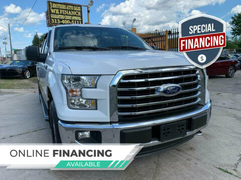 2016 Ford F-150 for sale at 3 Brothers Auto Sales Inc in Detroit MI