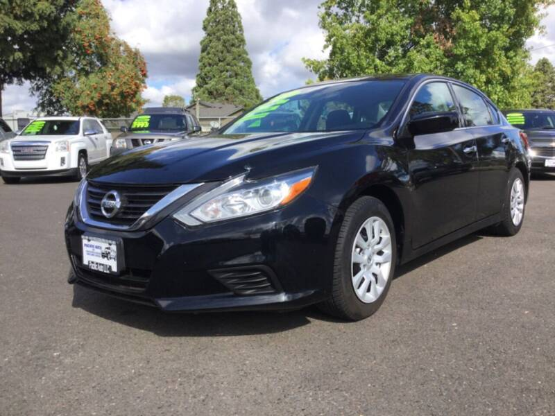2016 Nissan Altima for sale at Pacific Auto LLC in Woodburn OR