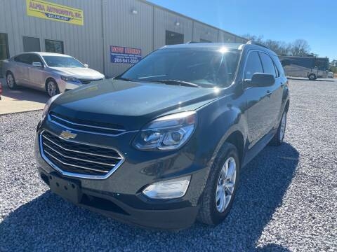 2017 Chevrolet Equinox for sale at Alpha Automotive in Odenville AL