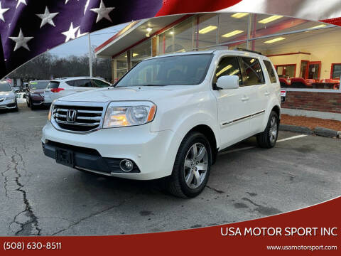 2013 Honda Pilot for sale at USA Motor Sport inc in Marlborough MA