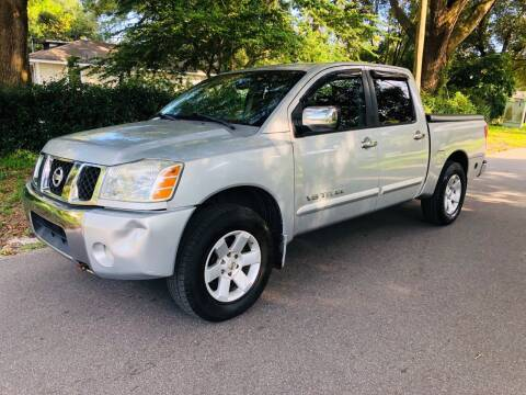 2006 Nissan Titan for sale at CHECK  AUTO INC. in Tampa FL
